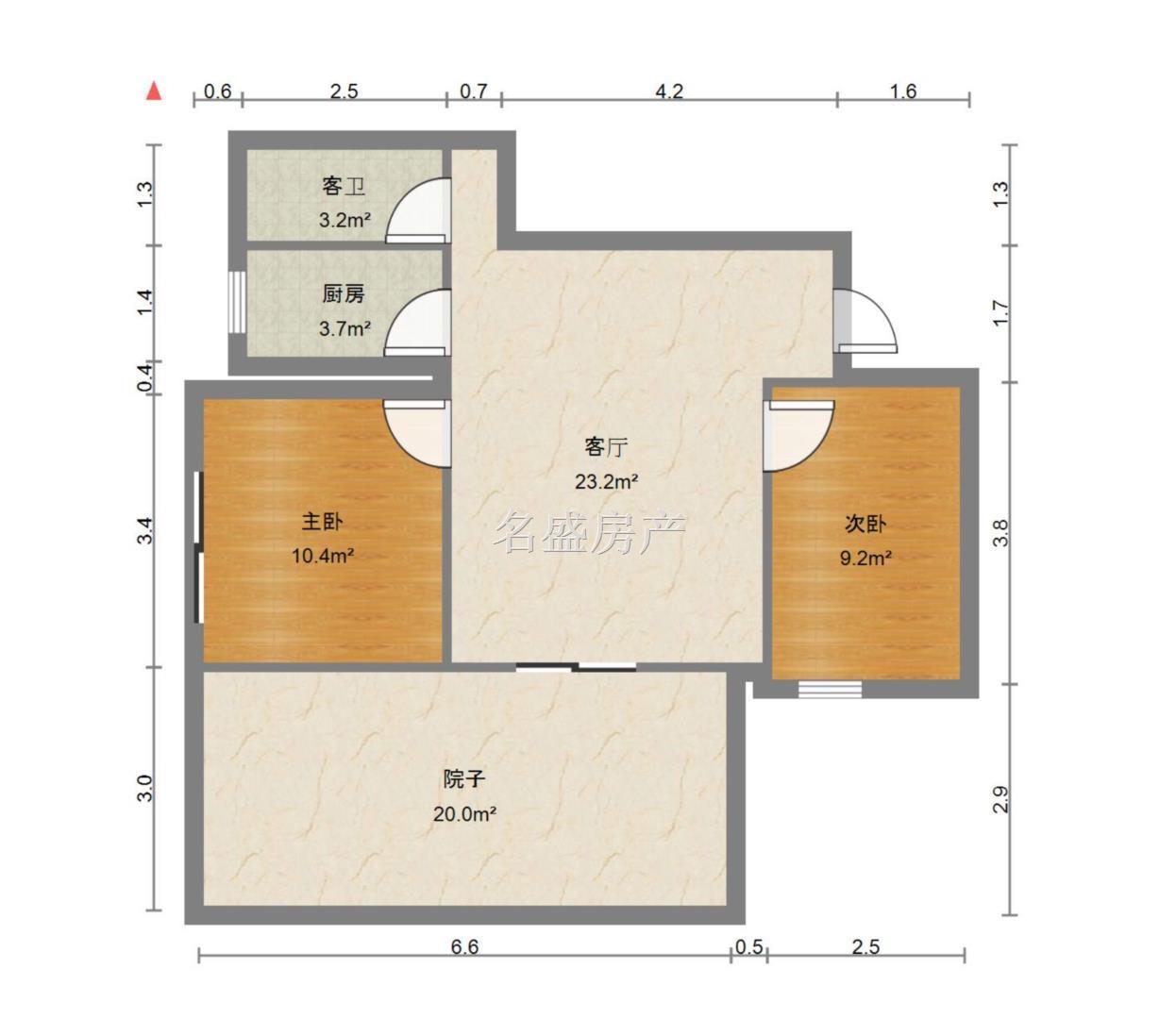 徐家扁学校附近+多层4楼+带大平台